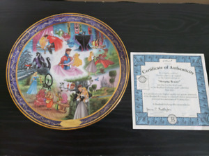 Bradford Exchange Sleeping Beauty Plate