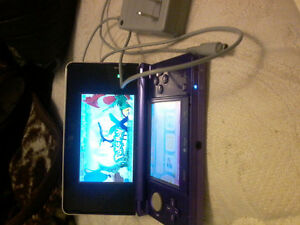 Nintendo ds great condition + charger +pokemon x