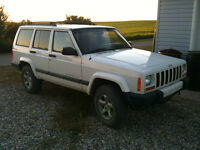 2001 Jeep Cherokee XJ - Trade for stock size XJ tires