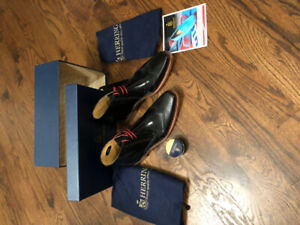 Herring (Finest Quality made in UK Shoes) BRAND NEW (Never Worn)