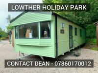 2 Bed static caravan holiday home for sale Lake District Cumbria Penrith Lowther