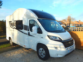 Bessacarr 424, Fiat 2.3 4 Berth Motorhome For Sale with Electric Drop Down Bed