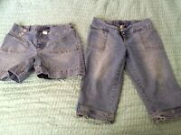 Medium (Large) Maternity Shorts and Capris Carleton Place