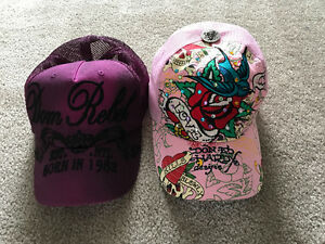 Ed Hardy and Dom Rebel Hats