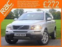 2008 Volvo XC90 3.2 235 BHP SE LUX AWD 4x4 4WD 7-Seater Geartronic 6 Speed Auto