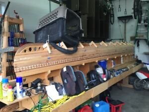 Wood Strip Canoe (project to complete)