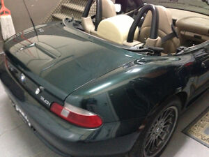 2001 BMW Z3 M-package Convertible