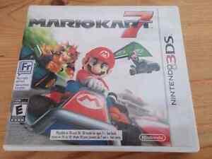 Mario Kart 7 (3DS) Kitchener / Waterloo Kitchener Area image 1