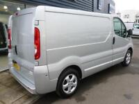 2014 Vauxhall VIVARO 2700 CDTI SPORTIVE SWB 115ps Van *SILVER* Manual Medium Van