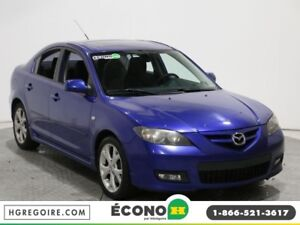 2007 Mazda 3 GT AUTO MAGS A/C GR ELECT CRUISE CONTROL
