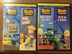 Bob The Builder DVDs NEW Un-opened