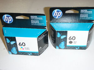 Cartouches d'encre HP 60 ink cartridges