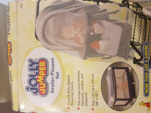 New Jolly Jumper Baby Stroller/Playpen Net (non smoking,non pet)