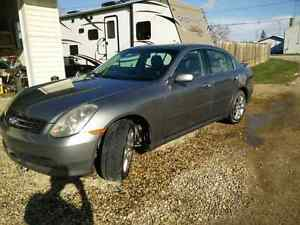2006 Infiniti g35x for sale