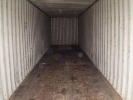 20FT SEA CONTAINERS AND 40FT SEA CONTAINERS O'Connor Fremantle Area Preview