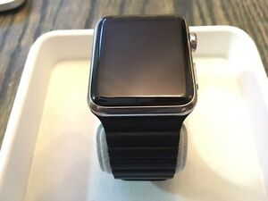 Apple Watch - 42mm - Stainless Steel + bands