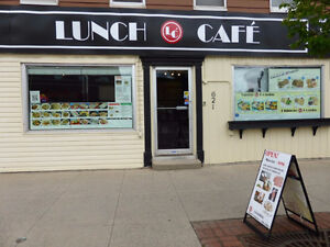 Business Only- 621 King Street, Fredericton NB- LUNCH CAFE