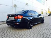 2014 14 Reg BMW M3 3.0 Dct + Black / RED Leather Saloon F80