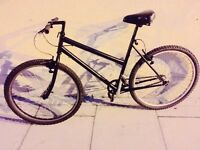 Black single speed track bike hh