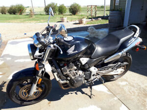 For sale 2005 Honda CB 919 motorbike