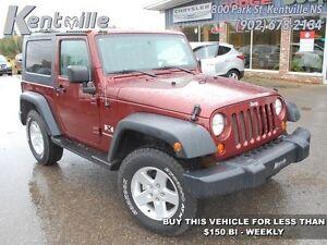 2008 Jeep Wrangler X   - $147.72 B/W - Low Mileage