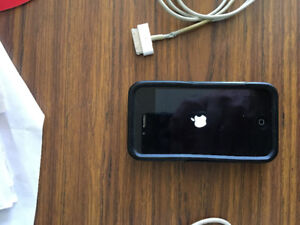 iPhone 4S, in good working order, with chargers, and case.