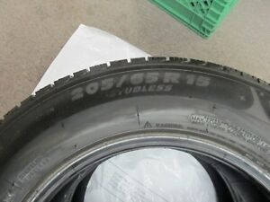 Michelin X-ICE 205/65R15   for 2 tires   199 great price