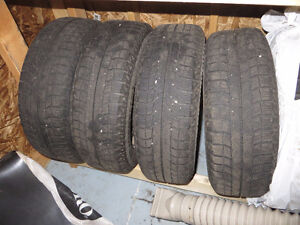 Winter Tires & Rims for 2007 or 2008 Honda Fit London Ontario image 1