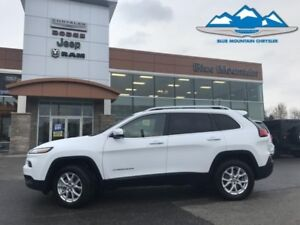 2018 Jeep Cherokee North 4x4  ACCIDENT FREE, ONE OWNER LOCAL TRA