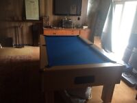 Pool table..