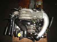JDM MAZDA 13B TWIN TURBO ENGINE WITH 5SPEED TRANSMISSION, ECU