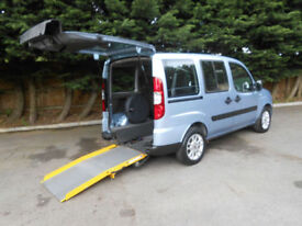 2008 Fiat Doblo 1.4 8v Dynamic Wheelchair Accessible Vehicle.