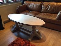 Large Wooden Coffee Table Excellent Condition