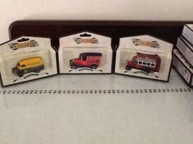 """26 Days gone""""car, trucks including Warburtons, Vaseline, Brasso & 1 Lledo"""