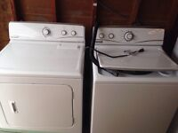 Maytag Washer and Gas Dryer
