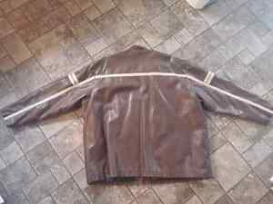 For Sale: Brown Leather Jacket Size 4XL St. John's Newfoundland image 2