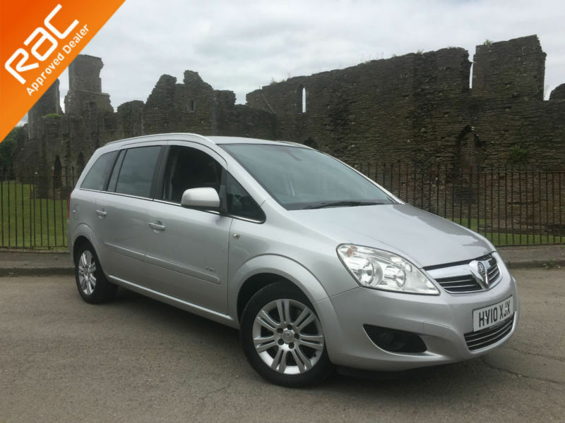 2010 vauxhall zafira elite 1 9cdti 150bhp 7 seater full heated leather in neath neath. Black Bedroom Furniture Sets. Home Design Ideas