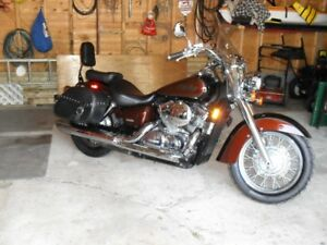 06 Honda shadow 750 Aero  beautiful ride