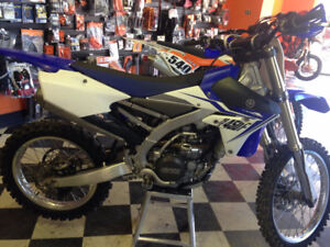 DIRT BIKE FOR SALE!! USED 2014 YAMAHA YZ 450F