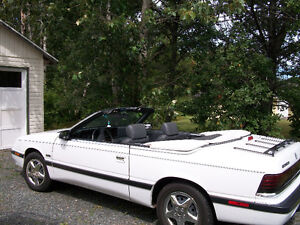 1989 Chrysler Lebaron Convertible In Very Good Condition