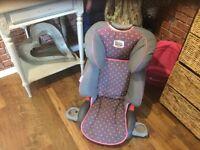 GIRLS BOOSTER SEAT £20