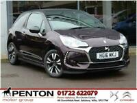 2016 DS Automobiles DS 3 1.2 PureTech Chic 3dr Hatchback Petrol Manual