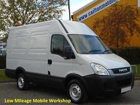 2011 / 61 Iveco Daily 35s11V High Roof [ Mobile Workshop / Racking ] Low Mileage