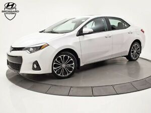 2015 Toyota Corolla S MAGS TOIT CUIR