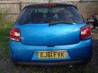 2011 Citroen DS3 1.6e-HDi Airdream DStyle Plus**DAMAGED SALAVAGE FRONT END*