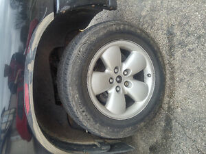 20 inch Dodge Ram Rims and tires in great shape!!