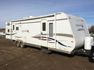 2007 Jay Feather 30U Quad Bunk travel trailer