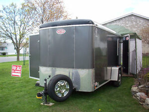 6x12' Atlas Action Camper/Cargo Trailer