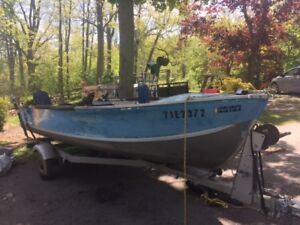 15 foot prince craft boat