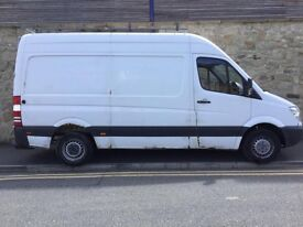 WE BUY MERCEDES SPRINTERS ANY AGE ANY CONDITION